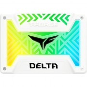 SSD TeamGroup T-Force Delta RGB White 500GB SATA-III 2.5 inch