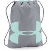 Under Armour Ozsee Sackpack - sacca zaino fitness - Grey/Light Blue