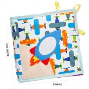 Googoogaga The Best Soft Books for Babies, Activity Soft and Fun Book, Fabric Baby Cloth Books, Big