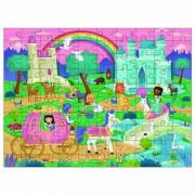 Puzzle pentru copii Galt Taramul Printeselor, 100 piese, 6 ani+