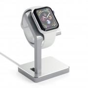 Satechi Hliníkový nabíjecí stojánek pro Apple Watch - Satechi, Aluminum Watch Stand Silver