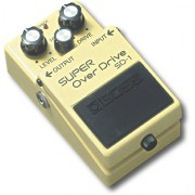 BOSS Audio - Overdrive Pedal - Yellow