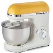 Mixer cu bol Ariete Gourmet Color 1594KM WH/YE, 1000W, 4L (Alb-Galben)
