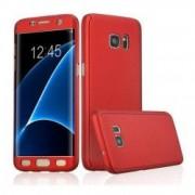 Husa protectie pentru Samsung Galaxy S7 Edge Rosu Fullbody fata-spate folie de protectie gratis