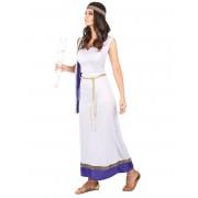 Vegaoo.es Disfraz de romana larga violeta mujer