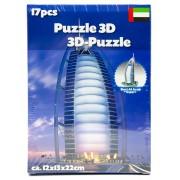 39.95 3D-pussel. välj ml. diff. sevärdheter Burj Al Arab