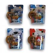 Yo-Kai Watch Medal Moments - Multi Set - Whisper, Komasan, Jibanyan, and Robonyan by Yokai Watch