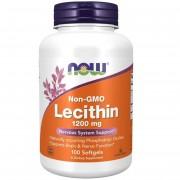 Now Foods Lecytyna bez GMO 1200 mg 100 kapsułek - 100 kapsułek