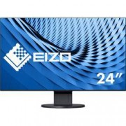"EIZO LCD monitor EIZO EV2451-BK noir, 60.5 cm (23.8 ""),1920 x 1080 px 5 ms, AH-IPS LCD DisplayPort, DVI, HDMI™, VGA, audio, stereo (jack 3,5 mm), USB 3.0"