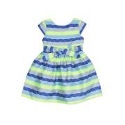 【67%OFF】KIT NEON リボンベルト付 グラフィカル ドレス グリーン 4 ベビー用品 > 衣服~~ベビー服