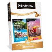 Wonderbox Coffret cadeau Escapade en duo + Moments en duo - Wonderbox