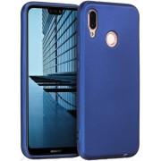Protectie spate Senno Pure Flex Slim Mate TPU pentru Huawei P20 Lite (Albastru)