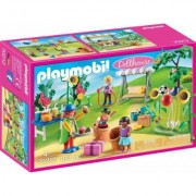 Playmobil® Konstruktions-Spielset »Kindergeburtstag mit Clown (70212), Dollhouse«, (103 St), Made in Germany