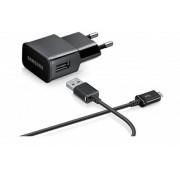 SAMSUNG Chargeur secteur Original 2A Micro USB - noir