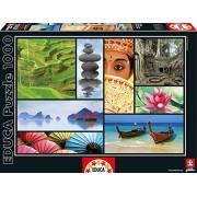 Colors Of Asia Educa 1000 Piece Puzzle
