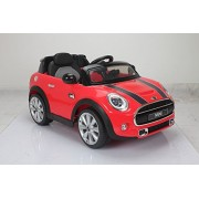 YEPDOM BMW Mini Cooper Licensed CAR with light and music (RED)