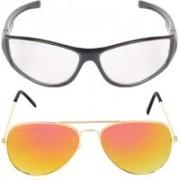 Aligatorr Retro Square, Aviator Sunglasses(For Boys & Girls)