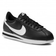 Обувки NIKE - Cortez Basic Leather 819719 012 Black/White/Metallic Silver