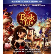 The Book of Life [2 Discs] [Blu-ray/DVD] [2014]