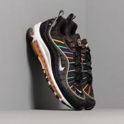 Nike Wmns Air Max 98 Premium Black/ Flash Crimson-Kinetic Green