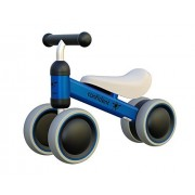 Ancaixin Blue Baby Balance Bikes Bicycle Children Walker 6-24 Months No Foot Pedal Infant Four Wheels First Bike