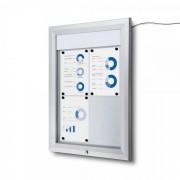 Jansen Display Venkovní vitrína typu T 4xA4, LED osvětlení