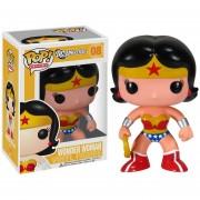 Wonder Woman Funko DC Comics Mujer Maravilla Vinyl-Rojo