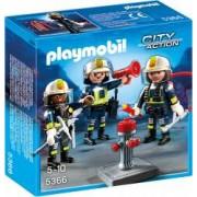 Set figurine - Echipa de pompieri