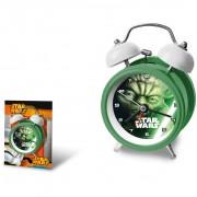 Star Wars - zelený budík, obrázek Yoda