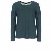 SuperNatural - Women's Essential Scoop L/S - Sous-vêtement mérinos taille S, noir/violet