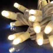 > FLASH LED - stringa prolungabile 100 led bianchi + 20 flash