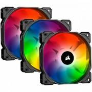 SP120 RGB PRO, 120mm RGB LED Fan, Triple Pack with Lighting Node Core CO-9050094-WW