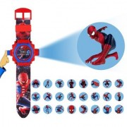 Spider Man character Projector Watch( Assorted color and design) 03
