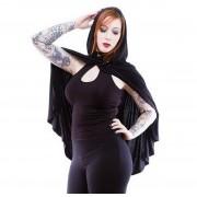 kapucnis pulóver női - Gothic Dunne - NECESSARY EVIL - N1221
