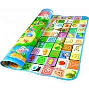 Waterproof Double Sided Baby Play Mat Child Activity Foam Floor Soft Kid Eductaional Toy Gift Gym Crawl Blanket Ocean Zoo Carpet- 6x4 Feet (1 pc) (Multicolour)