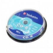 CD-R Verbatim 700 MB 52x 10 bucati/bulk in cake box