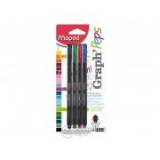 "Liner Maped ""Graph`Peps"", 4 culori diferite"