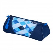 Necessaire Herlitz triunghiular Blue Cubes