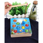 MIGO Fishing Game Toy Set, Party Educational Fishing Toy Gift, Early Education Enlightenment for Kids Boys Girls