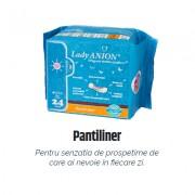 Pantiliner - pentru uz zilnic, putere de absorbţie 1 picătură 24 buc