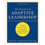 The Practice of Adaptive Leadership Tools and Tactics for Changing Your Organization and the World