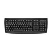 Kensington Pro Fit Membrane Keyboard - Wireless Connectivity - RF - Black