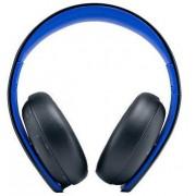 Casti Sony PS-SO-9812753, PS4, Wireless (Negru)