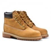 Timberland 6-Inch Premuim Nubuc Boots Wheat/Gul Barnskor 39 (US 5.5)