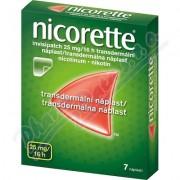 Nicorette invisipatch 25mg/16h emp.tdm.7 náplastí