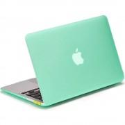 Carcasa de protectie LENTION Sand Series Green pentru Macbook Pro Retina 15 inch