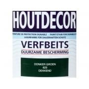 Hermadix Houtdecor verfbeits Donker Groen dekkend