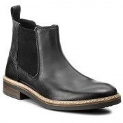 "Боти ""Ролингстонки"" CLARKS - Blackford Top 261279967 Black Leather"