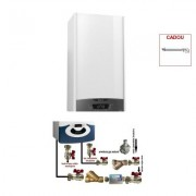 Produs cadou la Pachet centrala termica in condensare Ariston Clas One 24 EU 24 KW + pachet pentru instalare centrala termica murala