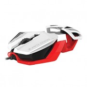 Mad Catz R.A.T. 1 Mouse for PC and Mobile Devices - White (MCB437260001/06/1)